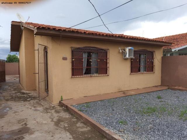 Casa para Venda em Várzea Grande, Jardim dos Estados, 2 dormitórios, 2 banheiros, 2 vagas