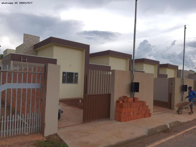 Casa para Venda em Várzea Grande, Jardim Eldorado, 2 dormitórios, 1 banheiro, 2 vagas - Foto 11