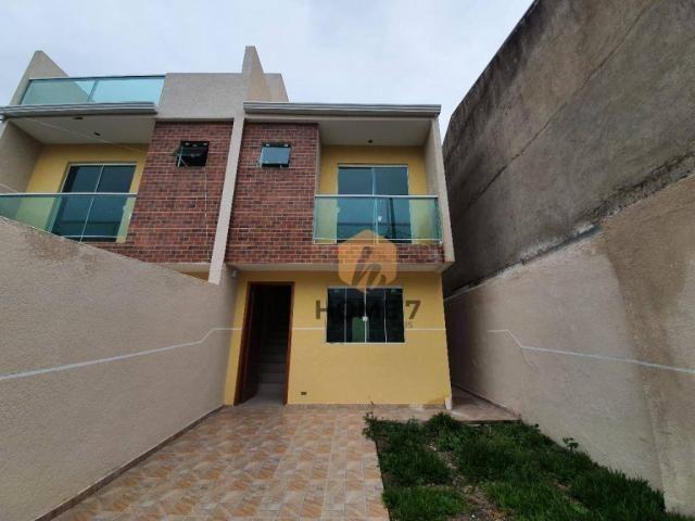 Sobrado à venda, 85 m² por R$ 319.900,00 - Sítio Cercado - Curitiba/PR - Foto 2