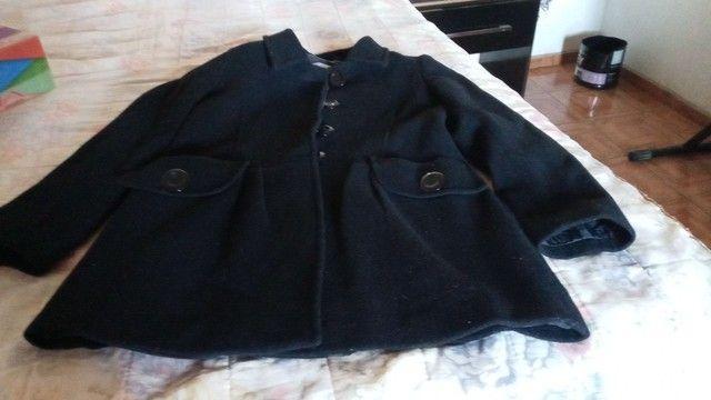 Um casaco de la batida