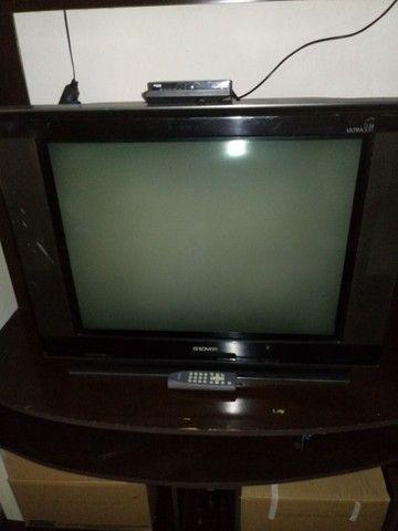 TV de tubo Semp 29 p. Com conversor