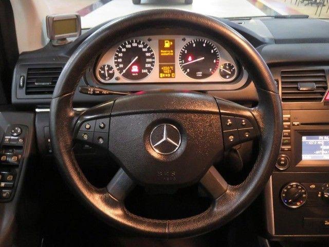 Mercedes-Benz B200 2.0 8v Turbo 4p Automático Top de Linha C/ Teto Panorâmico Único Dono - Foto 10