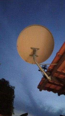 2 Antena para tv a cabo