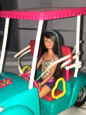 Boneca barbie, carro com boneca  - Foto 3