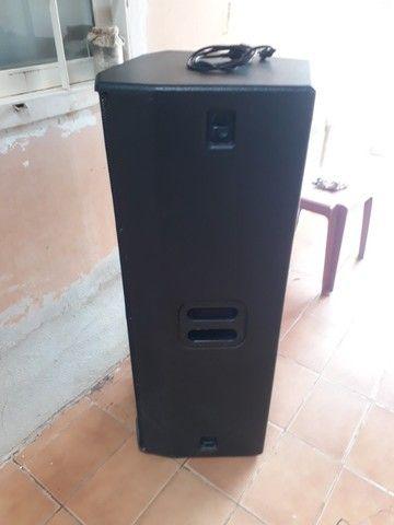Caixa Ativa 650w Rms Alto Falante 15? Oneal Bivolt Opb 5060PT - Foto 2