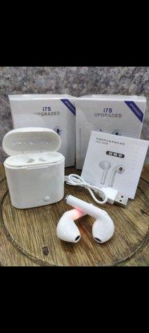 Fone De Ouvido Sem Fio Bluetooth I7 Tws Para iPhone Android