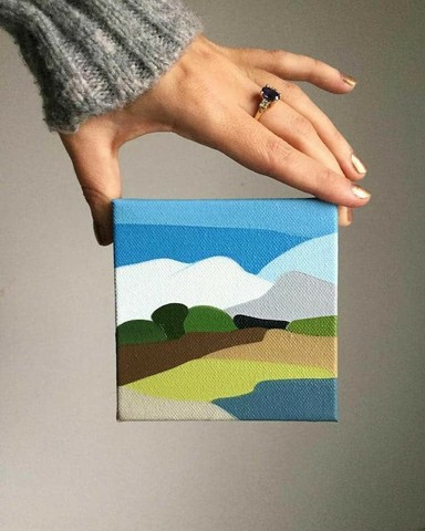 Pinturas abstratas  - Foto 3