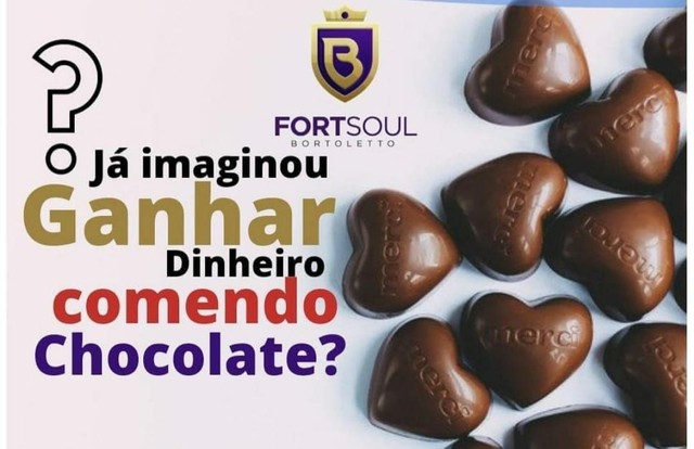 Revenda de Chocolate com Recheio