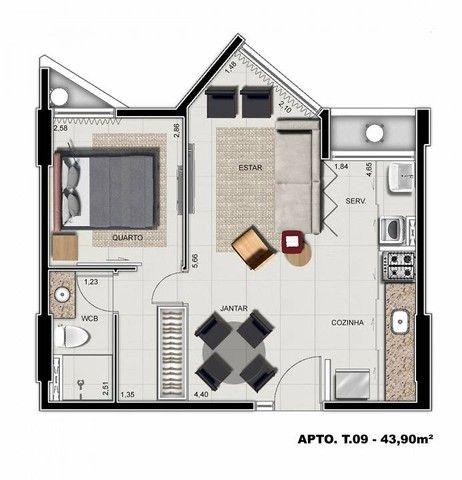 Apartamento para venda possui 64 metros quadrados com 3 quartos em Ponta Verde - Maceió -  - Foto 18