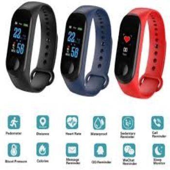 M3 Smartwatch Pulseira inteligente + 1 Pulseira Reserva Pronta Entrega - Foto 3