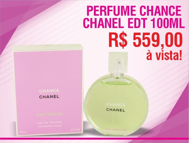 Perfume Chance Chanel edt 100ml