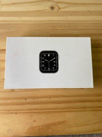Smart watch na caixa rosé - Foto 6