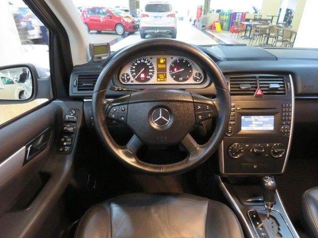Mercedes-Benz B200 2.0 8v Turbo 4p Automático Top de Linha C/ Teto Panorâmico Único Dono - Foto 9