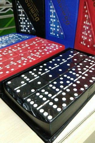 Domino do grande de osso  28 peças - Foto 3