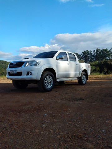 Toyota/Hilux Cd Srv 4x4 2015