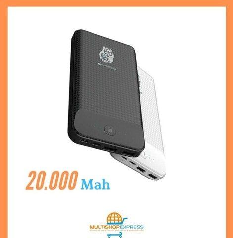 Carregador Portátil Pineng Original 20000mah Power Bank