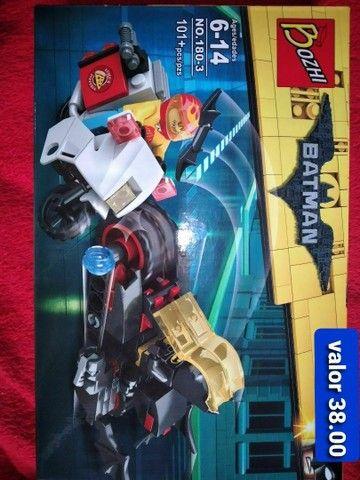Batman bloco de montar similar ao lego