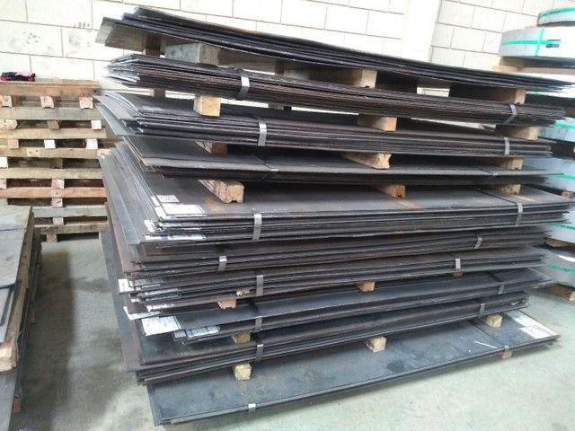 Chapas em aço carbono - Foto 2