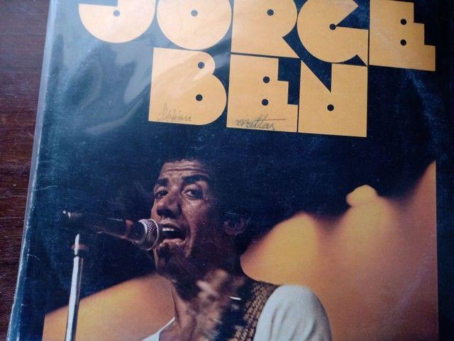 LP disco de vinil Jorge Bem A banda do Zé Pretinho