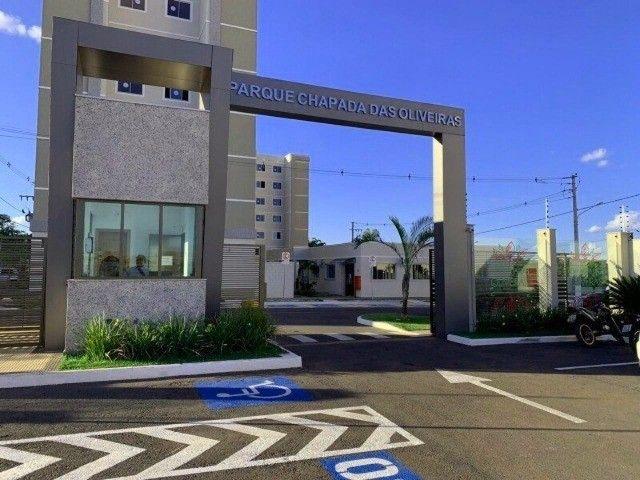 Apartamento Condominio Chapada das Oliveiras Planejado e Mobiliado - Foto 3