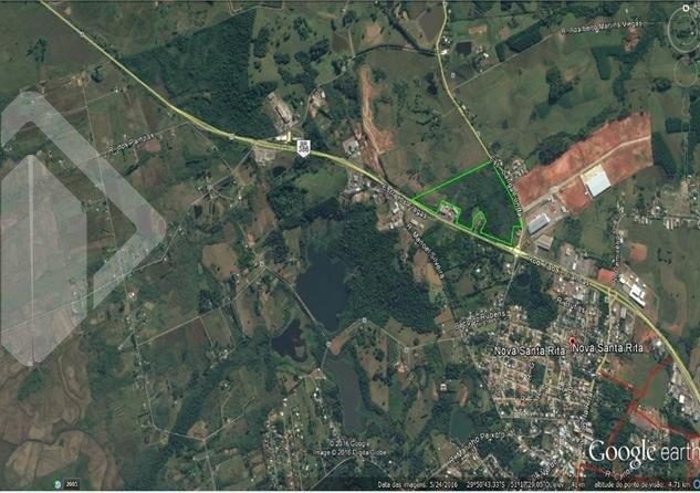 Terreno à venda em Centro, Nova santa rita cod:221285