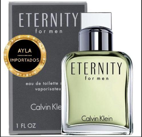 3 x R$: 63,00 Perfume Calvin Klein Eternity For Men 100ml