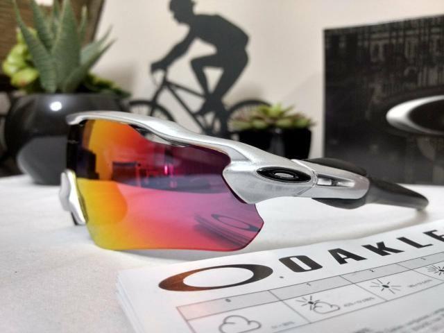 747760c3a Óculos de sol esportivo ciclismo Oakley Radar, 5 lentes - Ciclismo ...