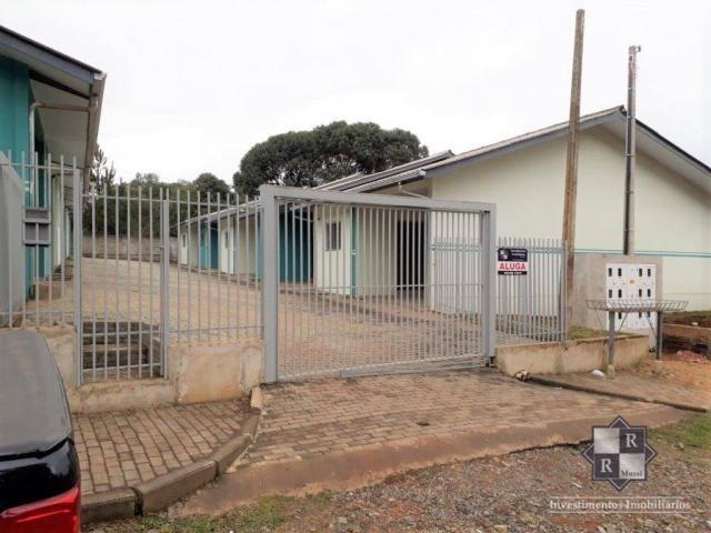 Casa com 2 dormitórios para alugar, 72 m² - São Cristovão - Três Barras/SC - Foto 2