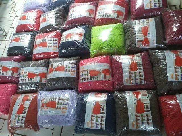 Capa de sofá de canto de várias cores