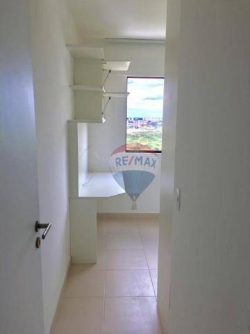 Apartamento com 2 dormitórios à venda, 52 m² por r$ 239.990,00 - ponta negra - natal/rn - Foto 12