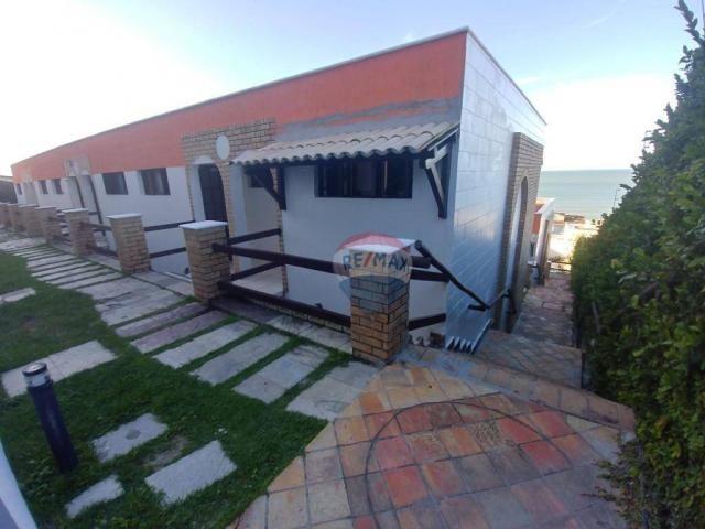 Flat estilo casa duplex com 2 dormitórios à venda, 57 m² por r$ 185.000 - ponta negra - na - Foto 19