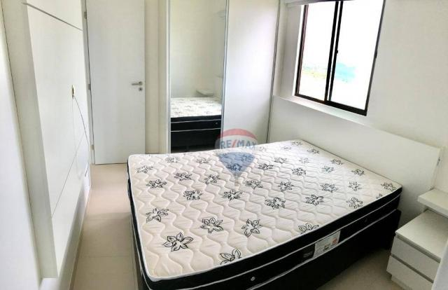 Apartamento com 2 dormitórios à venda, 52 m² por r$ 239.990,00 - ponta negra - natal/rn - Foto 20