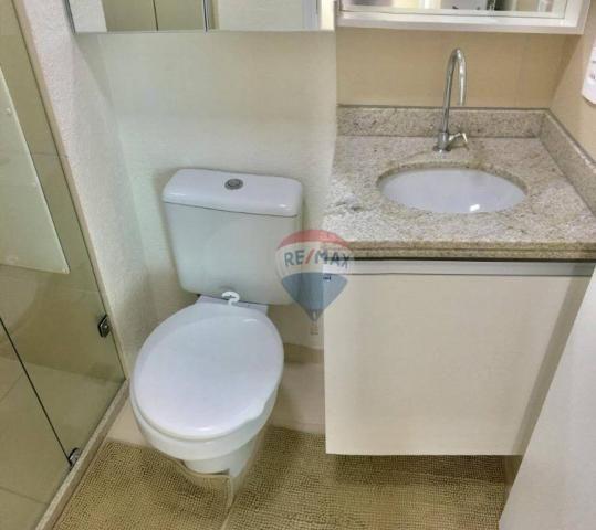 Apartamento com 2 dormitórios à venda, 52 m² por r$ 239.990,00 - ponta negra - natal/rn - Foto 18