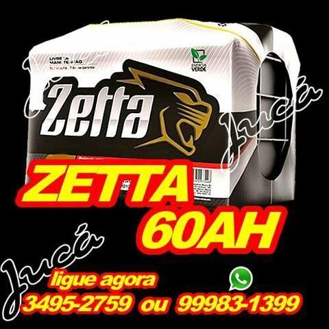 Espetacular promoção em baterias!!! confira!!! zetta 60 ah