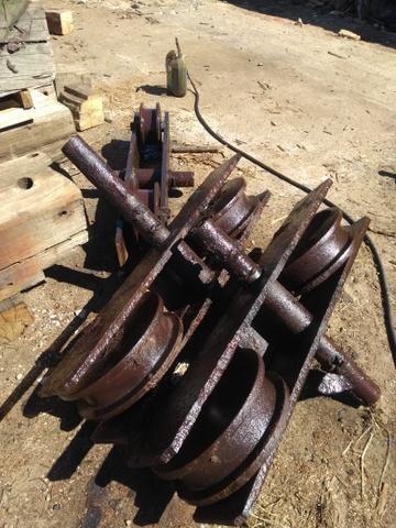 Guincho e.rodas de ferro - Foto 5