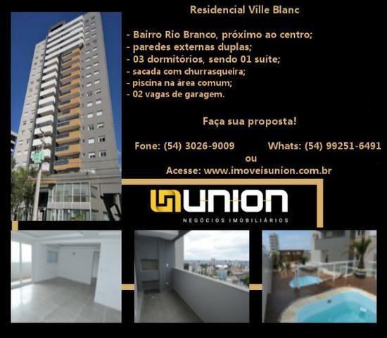 Oferta Imóveis Union! Apartamento novo com 90 m² no bairro Rio Branco, próximo ao centro!