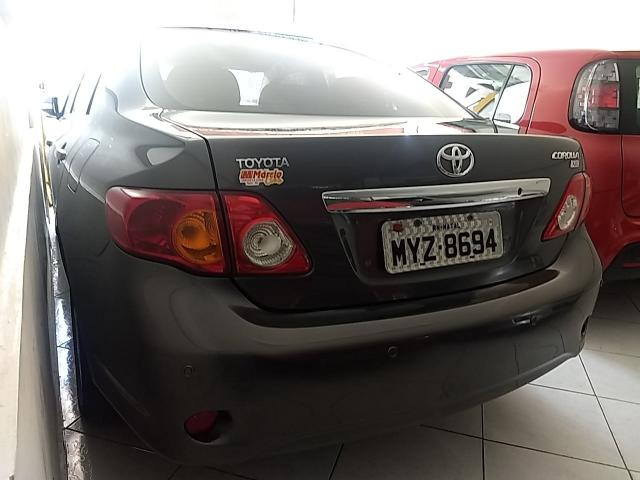TOYOTA COROLLA 2009/2010 1.8 XEI 16V FLEX 4P AUTOMÁTICO - Foto 3