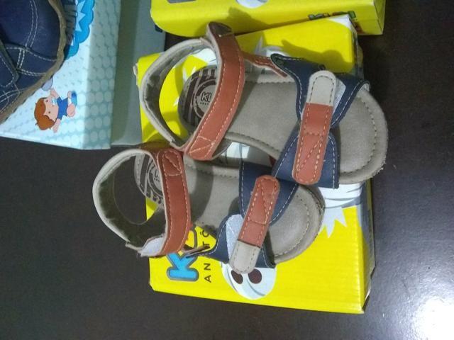 Vendo lote de sapato de menino e tapete de Eva - Foto 3