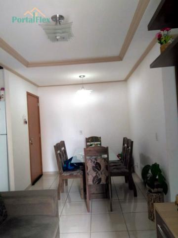 Apartamento à venda com 2 dormitórios em Morada de laranjeiras, Serra cod:4278 - Foto 3