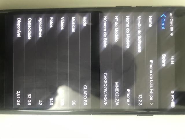 IPhone 7 32 Gigas - Foto 3