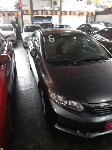 Honda civic lxs 16v/// entrada 15mil + parcelas fixas 950.00 - Foto 3