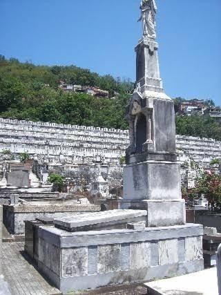 Jazigo perpétuo no Cemitério São João Batista