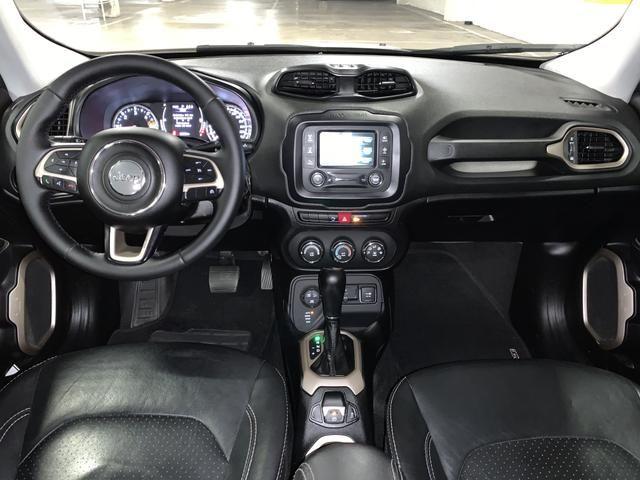 Jeep renegade sport diesel 2016 4x4 c/ bancos em couro extra!!! - Foto 16