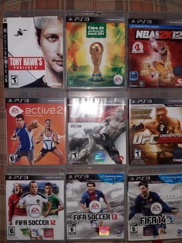 Vendo jogos ps3 original