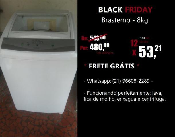 Black Friday - Máquina de lavar roupa Brastemp 8kg
