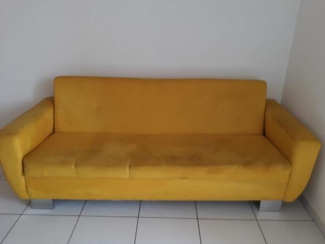 Vendo lindo sofá cama - Foto 2
