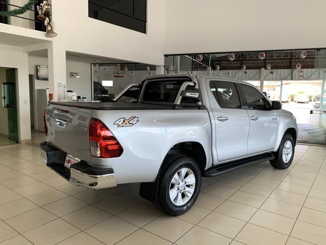 Toyota Hilux SRV CD 2.8 4x4 Automática Diesel 2018 - Foto 7