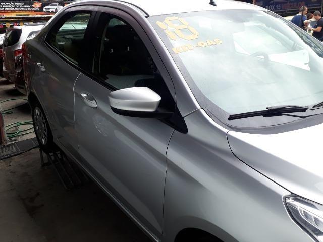 Black Friday*Somente no mês de Dezembro!Ford Ka 1.5 SE ano 2018 Prata, GNV. Completo!! - Foto 2