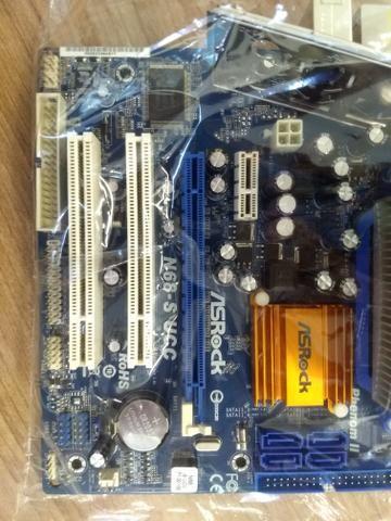 Athlon x2 dual core 2.1ghz am2 mb asrock n68-s ucc ddr2 - Foto 4