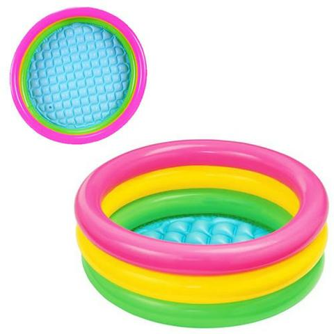 Piscina Intex inflavel para bebê Por do Sol 38 L - Foto 4